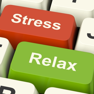 stress and relax buttons
